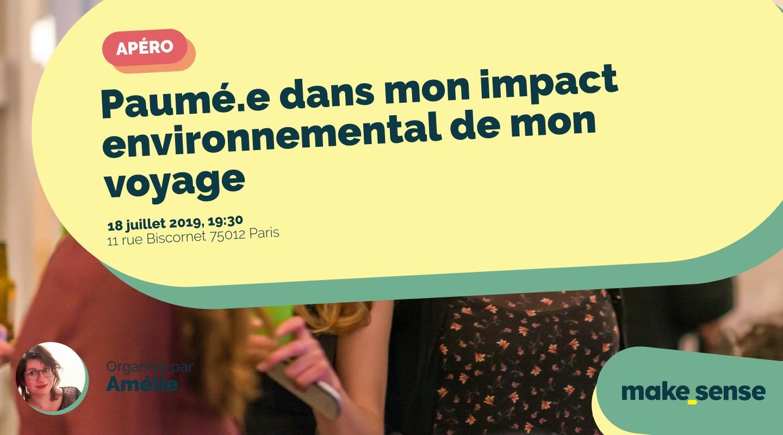 Image of the event : Paumé.e dans mon impact environnemental de mon voyage