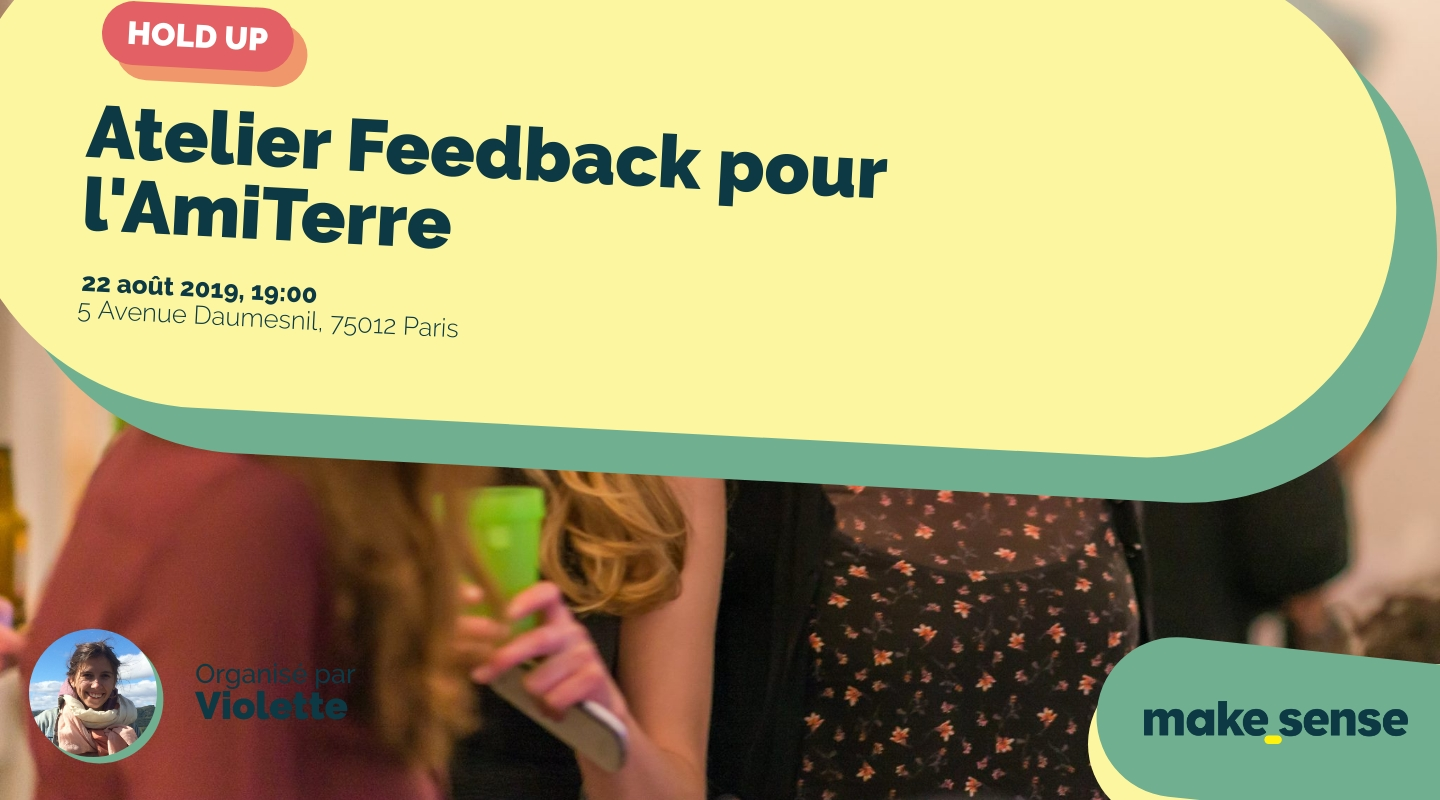 Image of the event : Atelier Feedback pour l'AmiTerre