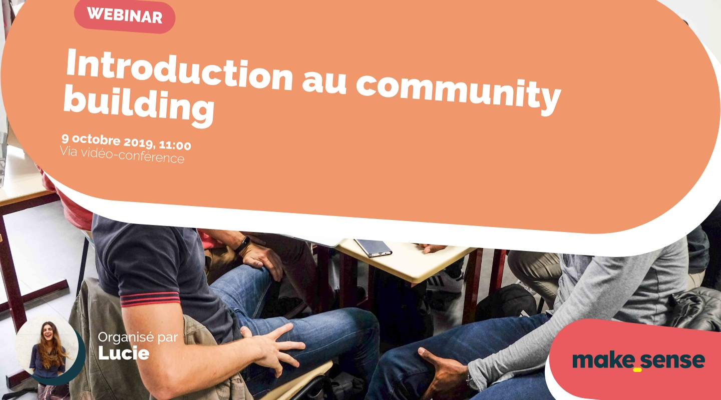 Image of the event : Introduction au community building