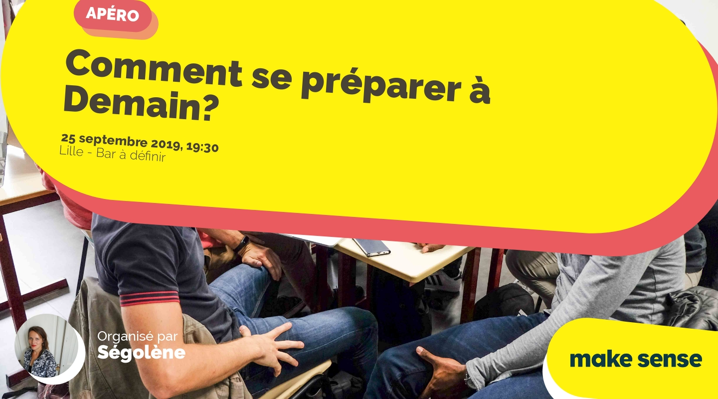 Image of the event : Comment se préparer à Demain?