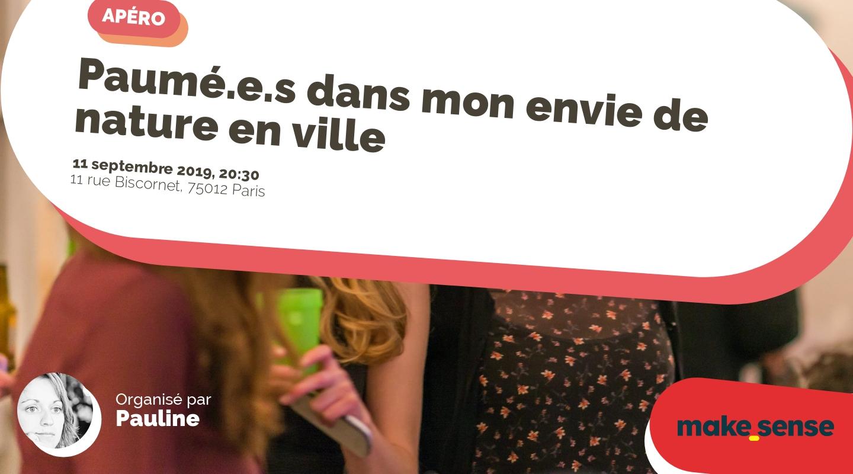 Image of the event : Paumé.e.s dans mon envie de nature en ville