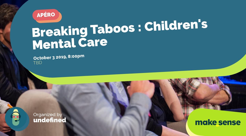 Image de l'événement : Breaking Taboos : Children's Mental Care