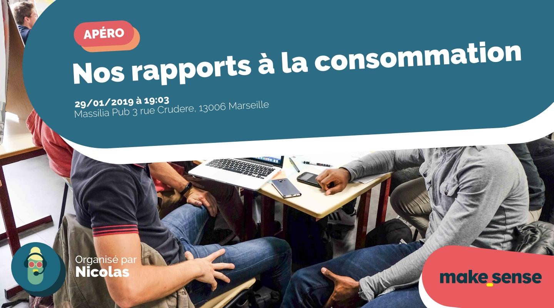 Image of the event : Nos rapports à la consommation