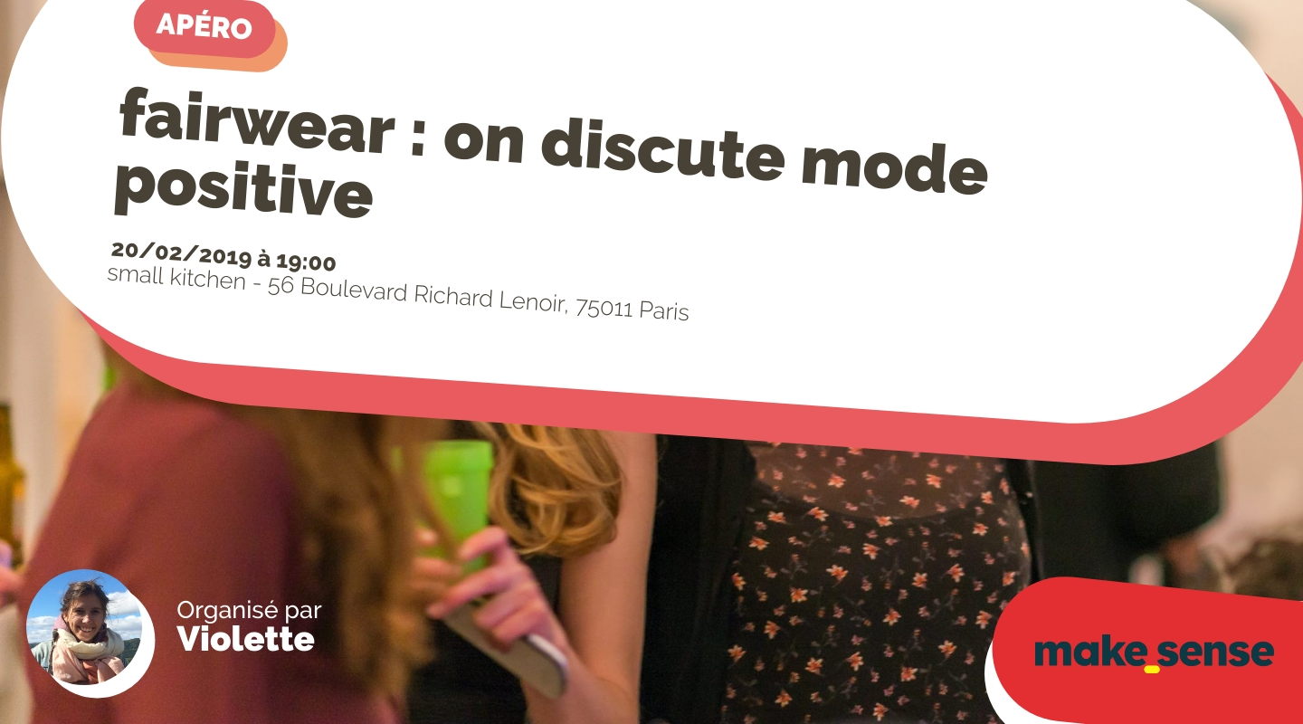 Image of the event : fairwear : on discute mode positive