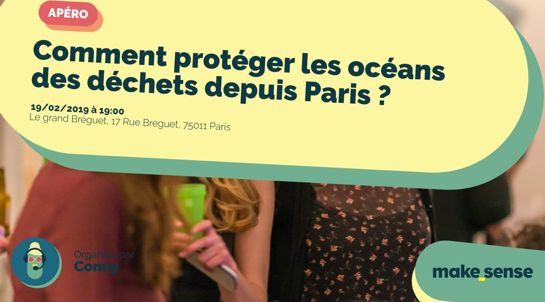 Image of the event : Comment protéger les océans des déchets depuis Paris ?