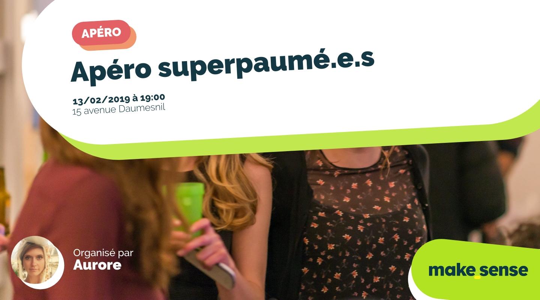Image of the event : Apéro superpaumé.e.s