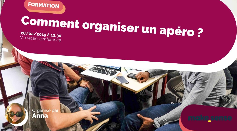 Image of the event : Comment organiser un apéro ? Session du 28.02.19