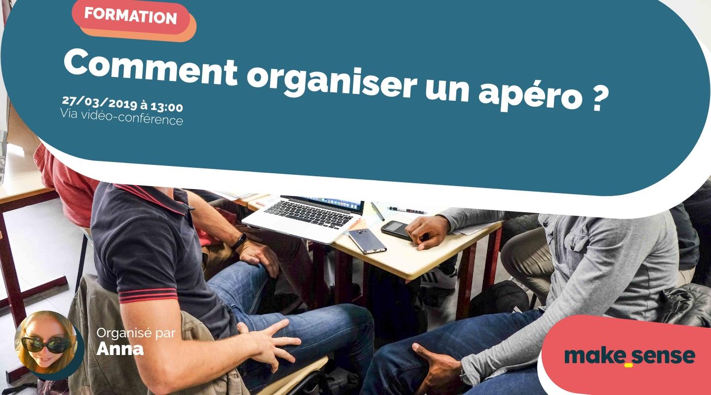 Image de l'événement : Comment organiser un apéro ? Session du 27.03.19