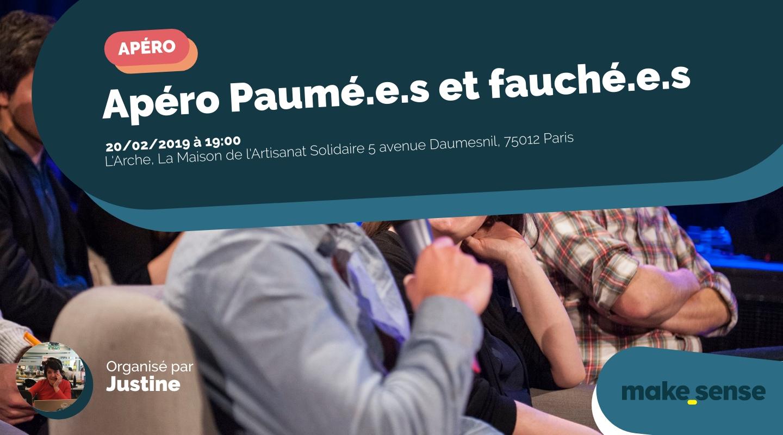 Image of the event : Apéro Paumé.e.s et fauché.e.s
