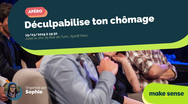 Image of the event : Déculpabilise ton chômage