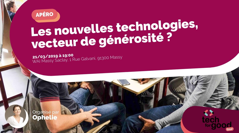 Image de l'événement : Les nouvelles technologies, vecteur de générosité ?