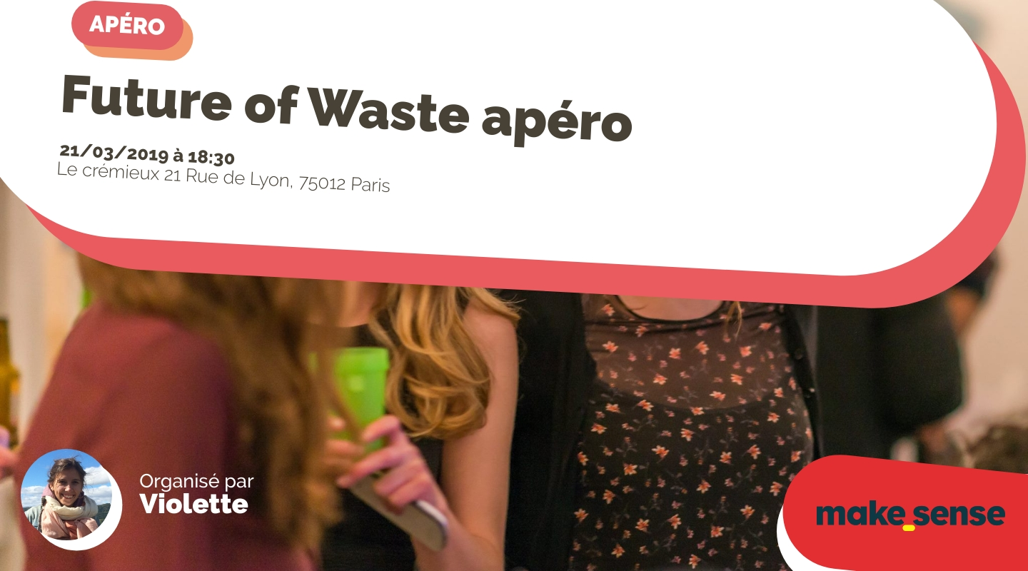 Image of the event : Future of Waste apéro