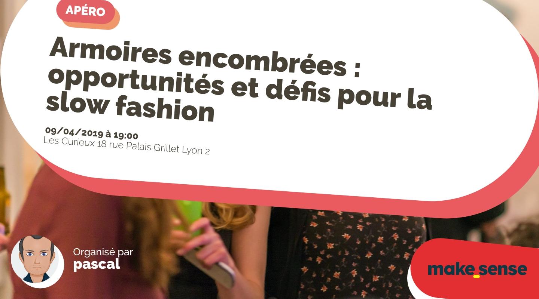 Image de l'événement : Armoires encombrées : opportunités et défis pour la slow fashion