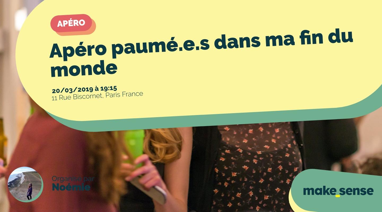 Image of the event : Apéro paumé.e.s dans ma fin du monde