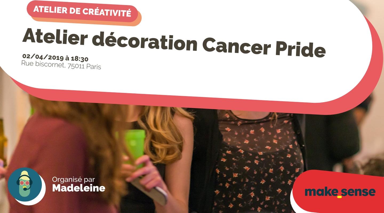 Image de l'événement : Atelier décoration Cancer Pride
