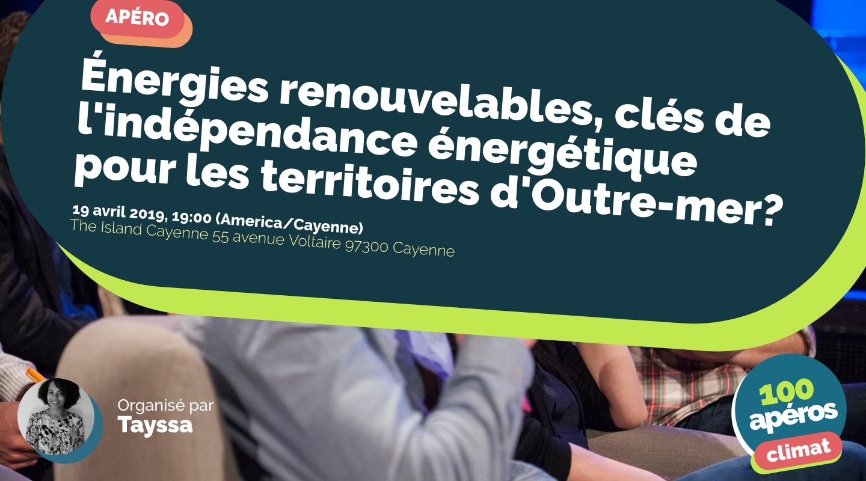 Image of the event : Énergies renouvelables, clés de l'indépendance énergétique pour les territoires d'Outre-mer?