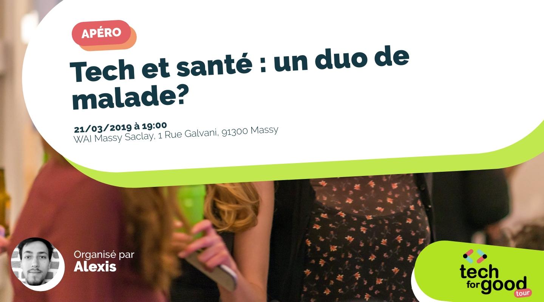 Image de l'événement : Tech et santé : un duo de malade?