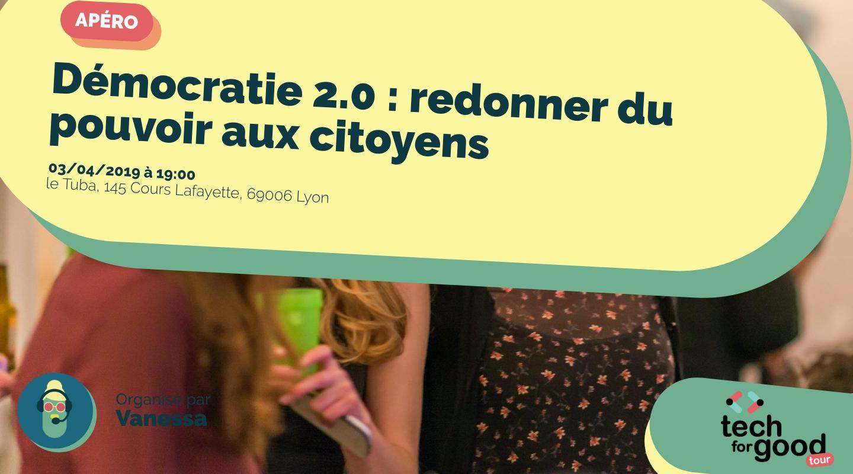 Image of the event : Démocratie 2.0 : redonner du pouvoir aux citoyens