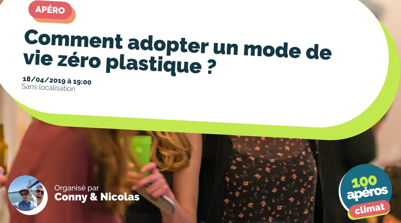 Image de l'événement : Comment adopter un mode de vie zéro plastique ?