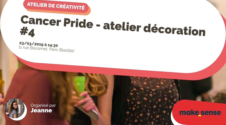 Image de l'événement : Cancer Pride - atelier décoration #4