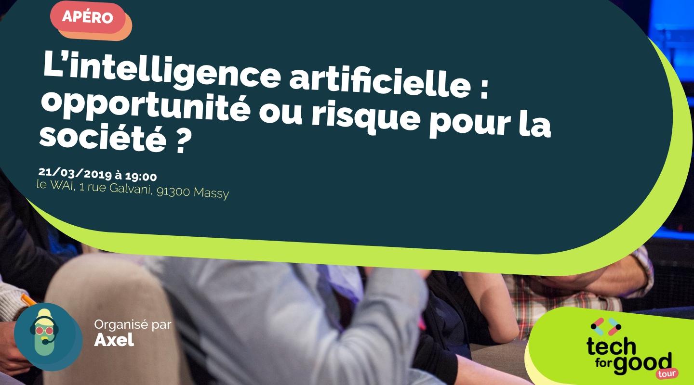 Image de l'événement : L'intelligence artificielle : opportunité ou risque pour la société ?