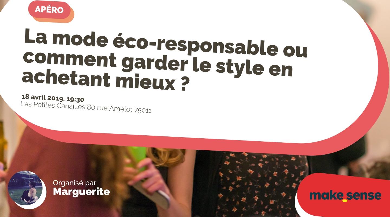 Image of the event : La mode éco-responsable ou comment garder le style en achetant mieux ?