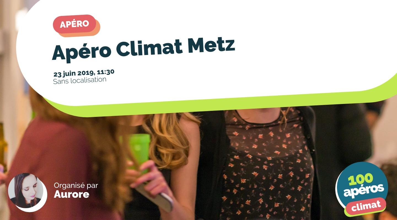 Image de l'événement : Apéro Climat Metz