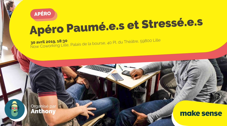 Image of the event : Apéro Paumé.e.s et Stressé.e.s