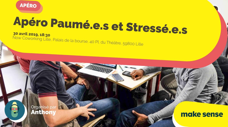 Image de l'événement : Apéro Paumé.e.s et Stressé.e.s