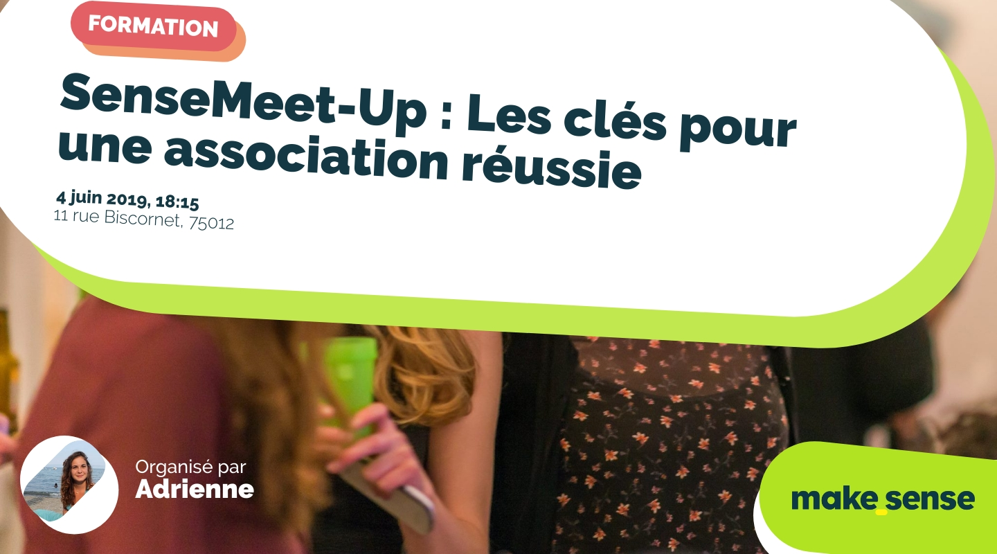 Image of the event : SenseMeet-Up : Les clés pour une association réussie