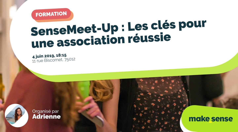 Image de l'événement : SenseMeet-Up : Les clés pour une association réussie