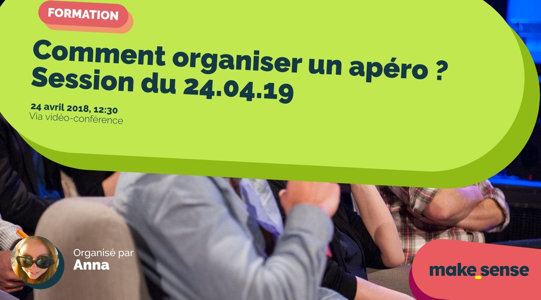 Image de l'événement : Comment organiser un apéro ? Session du 24.04.19