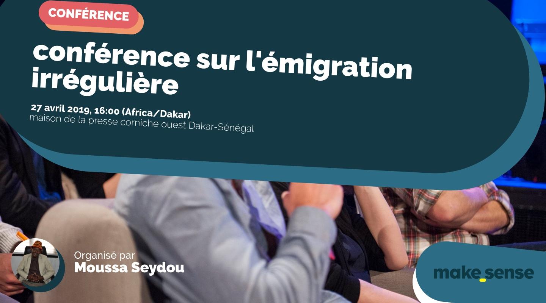 Image de l'événement : conférence sur l'émigration irrégulière