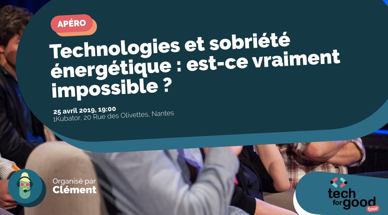 Image de l'événement : Technologies et sobriété énergétique : est-ce vraiment impossible ?