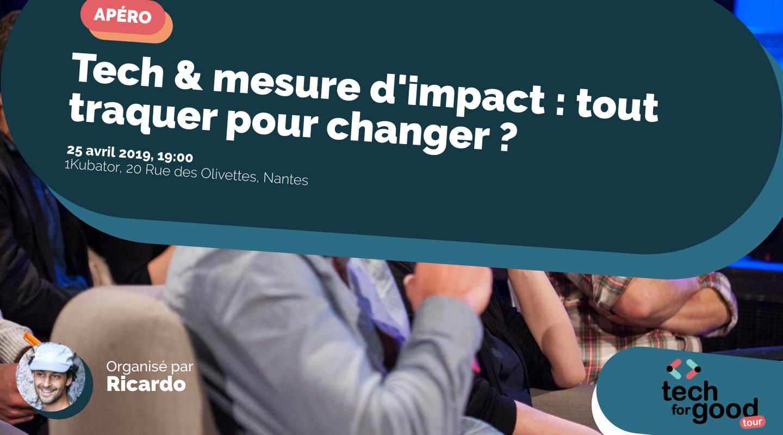 Image de l'événement : Tech & mesure d'impact : tout traquer pour changer ?
