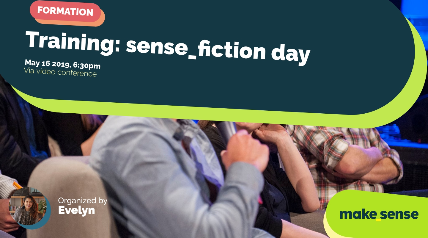 Image of the event : Training: sense_fiction day