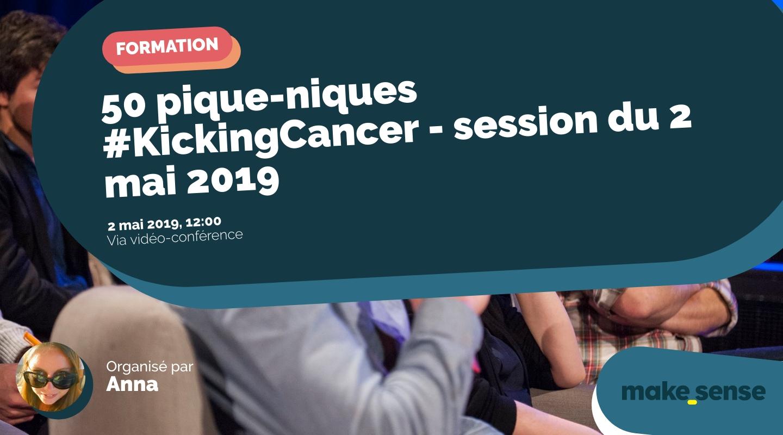 Image de l'événement : 50 pique-niques #KickingCancer - session du 2 mai 2019