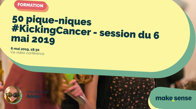 Image de l'événement : 50 pique-niques #KickingCancer - session du 6 mai 2019