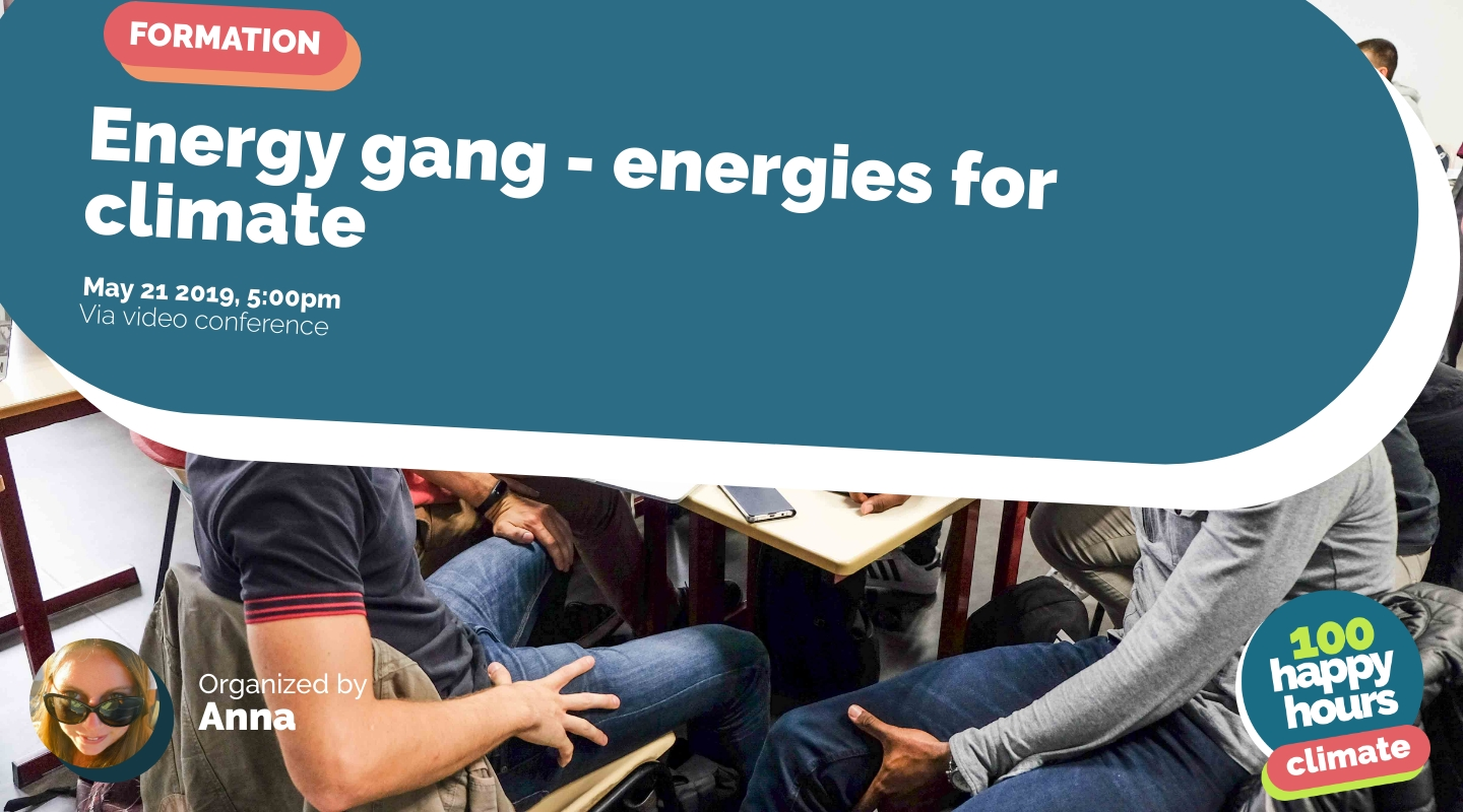Image de l'événement : Energy gang - energies for climate