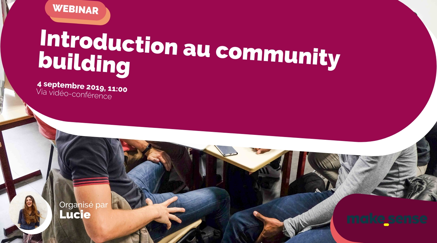 Image de l'événement : Introduction au community building