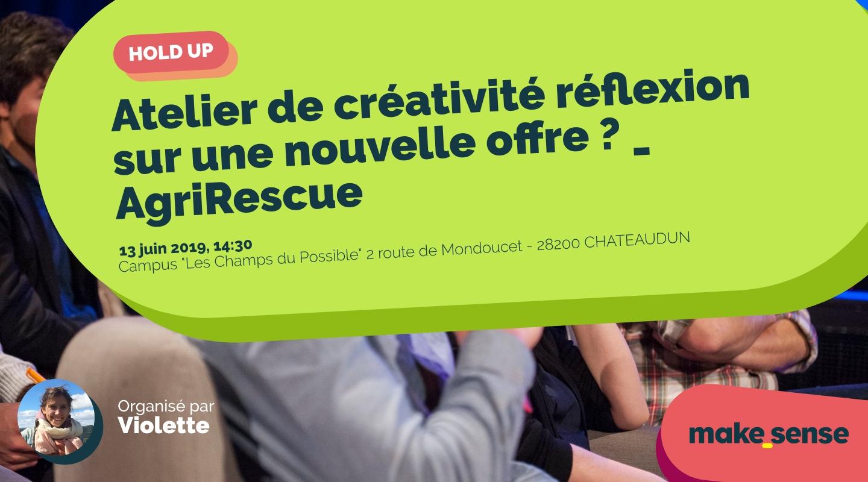Image of the event : Atelier de créativité réflexion sur une nouvelle offre ? _ AgriRescue