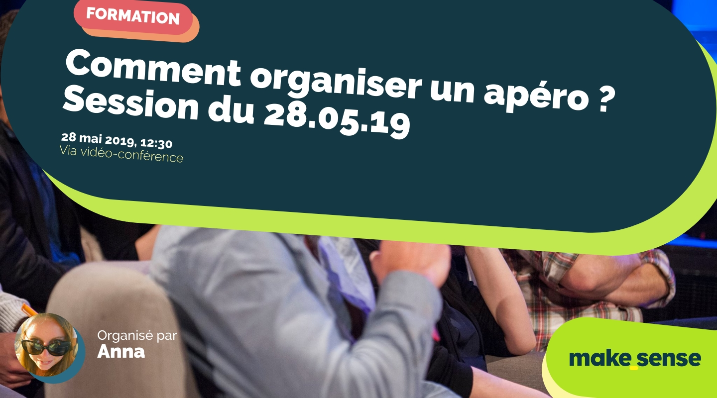 Image of the event : Comment organiser un apéro/pique-nique ? Session du 28.05.19