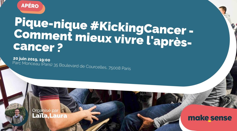 Image de l'événement : Pique-nique #KickingCancer - Comment mieux vivre l'après-cancer ?