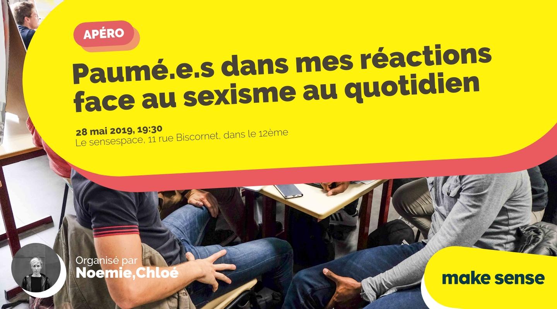 Image de l'événement : Paumé.e.s dans mes réactions face au sexisme au quotidien