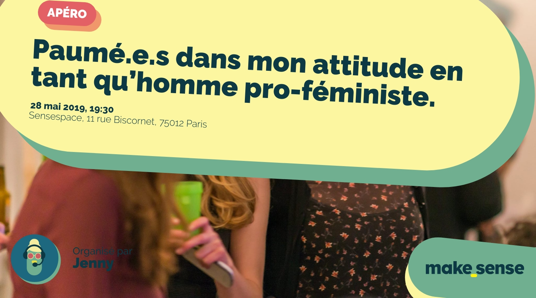 Image de l'événement : Paumé.e.s dans mon attitude en tant qu'homme pro-féministe.
