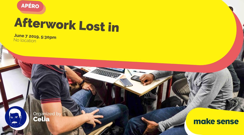 Image de l'événement : Afterwork Lost in