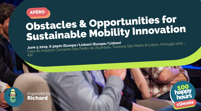 Image de l'événement : Obstacles & Opportunities for Sustainable Mobility Innovation