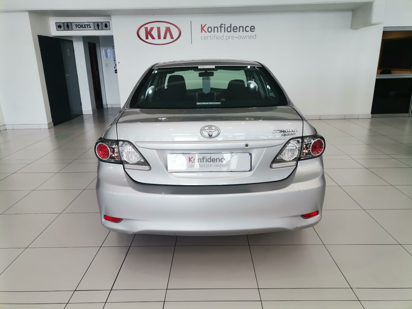 TOYOTA QUEST 1.6 A/T Pinetown 6310406