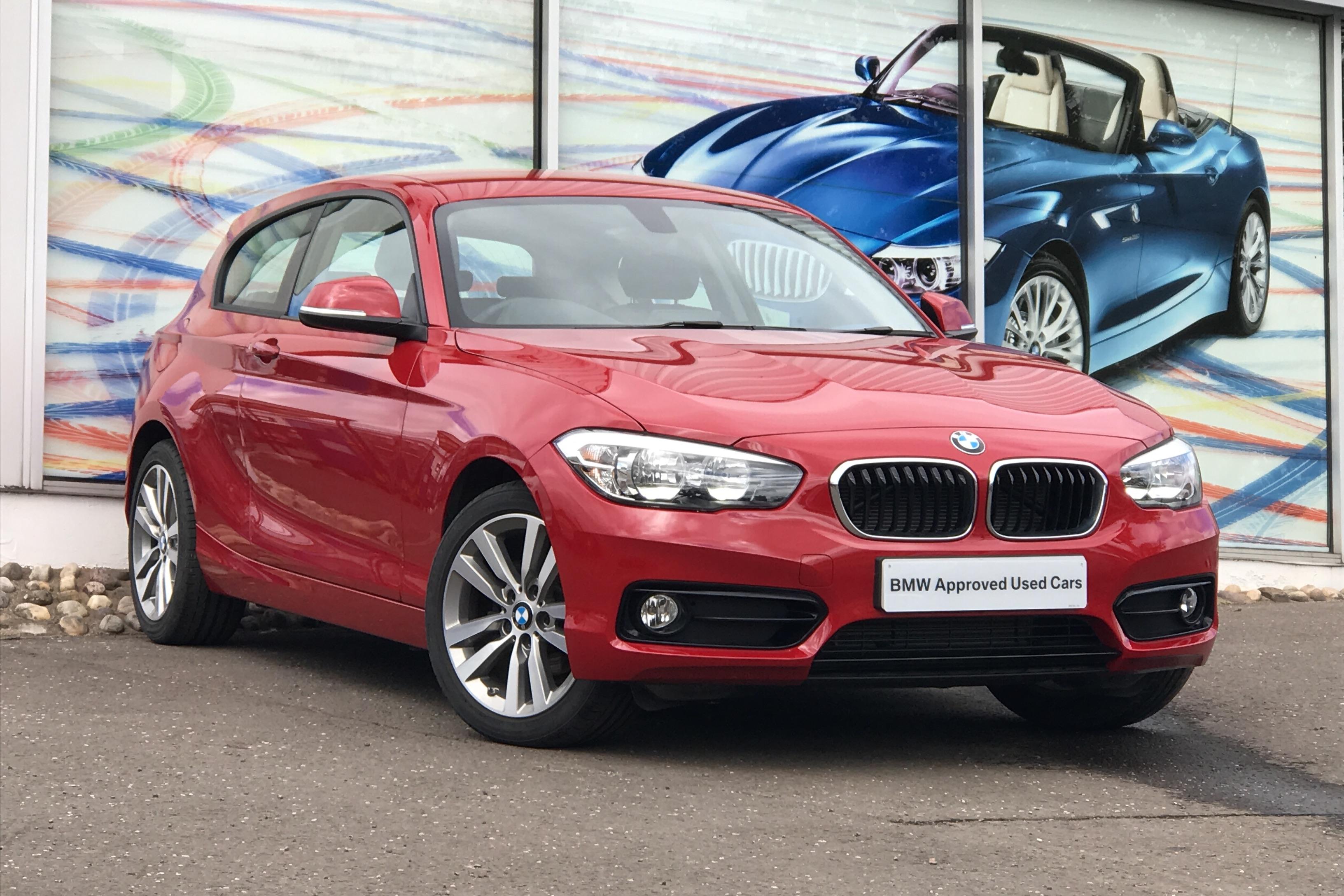 2018 BMW 1 Series 1.5 118i Sport 3d (18 reg)