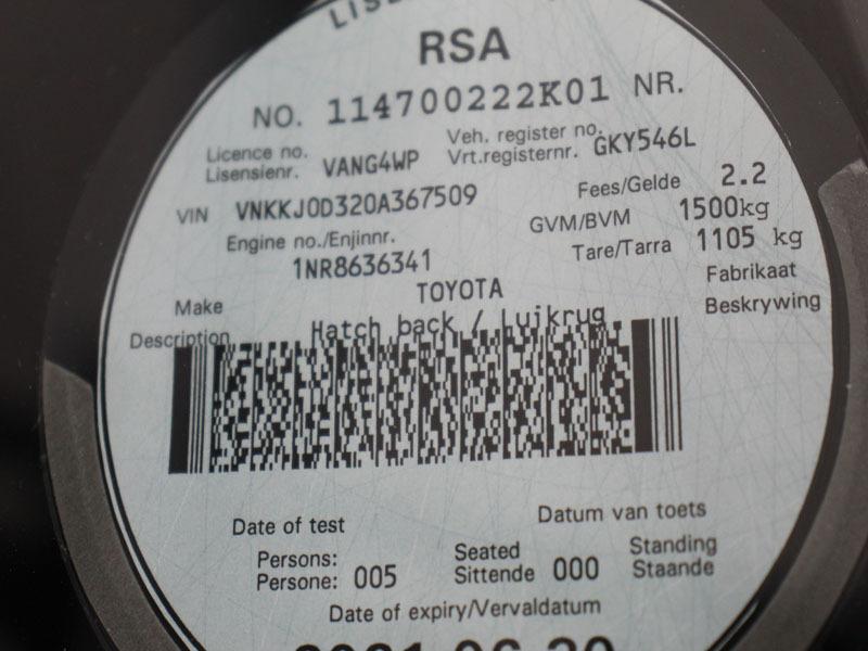 TOYOTA 1.3 XS CVT 5Dr Cape Town 19335016
